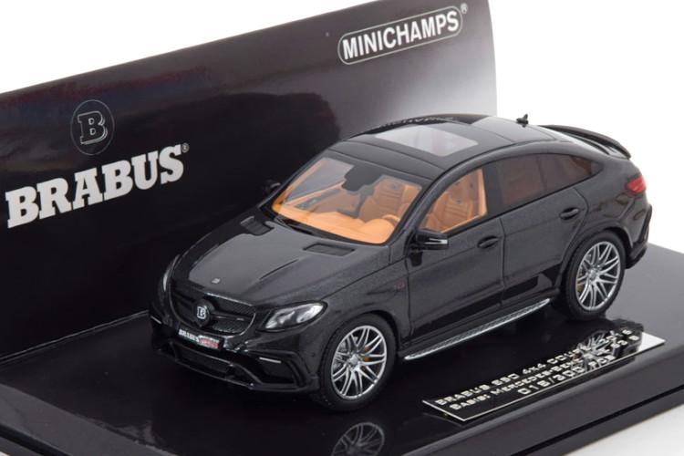 《メーカー在庫限り特価》 ミニチャンプス 1 43 メルセデス ブラバス 返品交換不可 850 4x4 クーペ ベース AMG GLE 63 S Edition based 1:43 Coupe 300 300台限定Minichamps Mercedes Brabus メタリックブラック Limited black-metallic 返品不可 pcs 2016