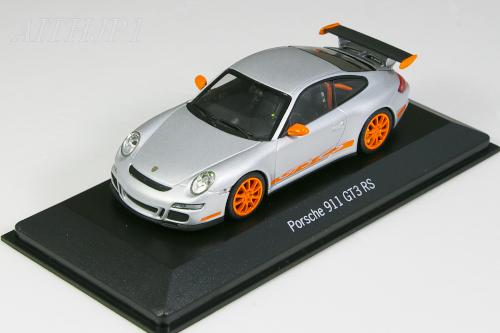 GT3 シルバー RS 限定 ポルシェ ミニチャンプス 1/43 ポルシェ特注 911