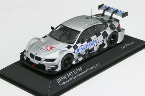 ミニチャンプス 1/43 BMW M3 DTM ニュルンベルク・トイフェア 2013 576台限定モデル