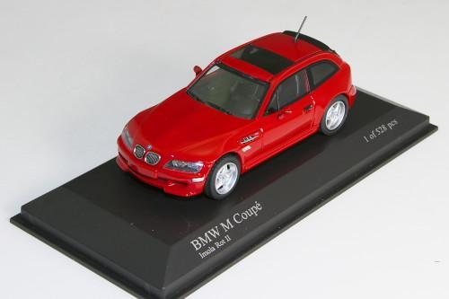 ミニチャンプス 1/43 BMW M クーペ 2002 レッド 528台限定