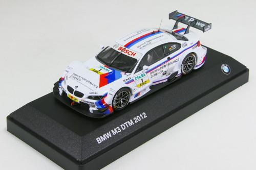ミニチャンプス 1/43 BMW特注 BMW M3 DTM (E92) #1 2012