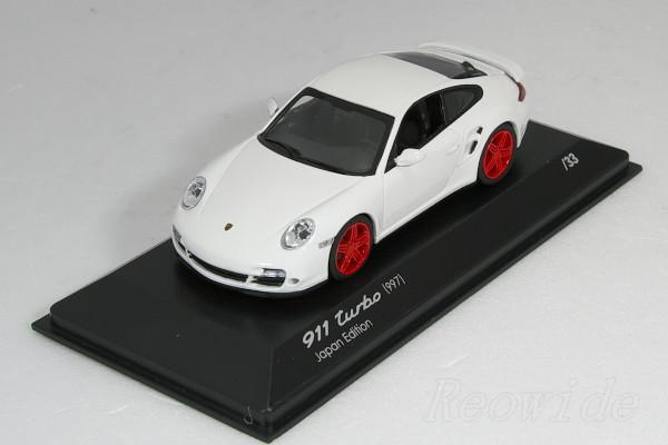 ミニチャンプス 1/43 ポルシェ 911 ターボ (997) 日本仕様 33台限定