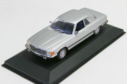 <中古品>ミニチャンプス 1/43 メルセデスベンツ 450 SLC 1972-80 シルバー