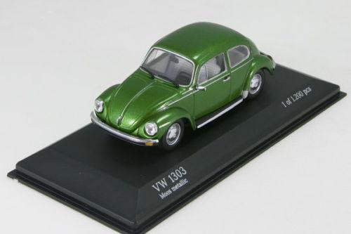 中古品 ミニチャンプス 1 43 モスグリーンメタリック 1303 フォルクスワーゲン 1972-77 有名な 日本正規代理店品