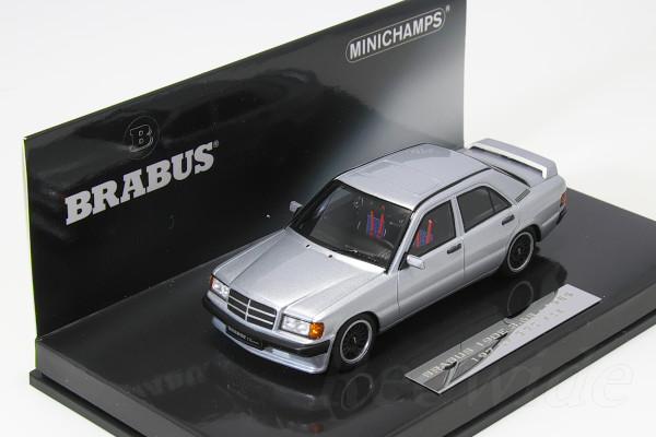 2020 新作 ミニチャンプス 1 43 日本正規代理店品 ブラバス190E 3.6S 370台限定 シルバー 1989 メルセデスベンツ