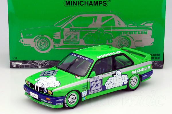 ミニチャンプス 1/18 BMW M3 E30 #23 DTM 1988 Peter Oberndorfer 750台限定 開閉