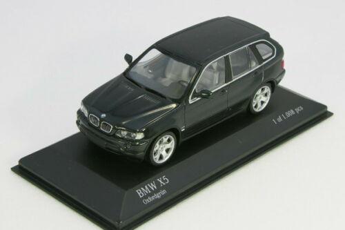<中古品>ミニチャンプス 1/43 BMW X5 2000 グリーン