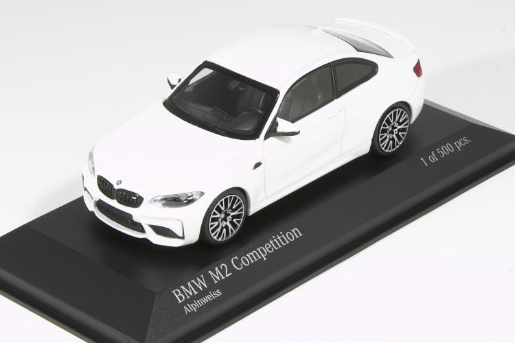 ミニチャンプス 1/43 BMW M2 コンペティション 2019 ホワイト 500台限定 BMW Competition White