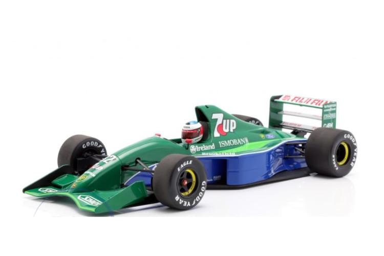 ミニチャンプス 1/18 M.シューマッハ ジョーダン 191 #32 ベルギーGP スパ 1991 F1 M. Schumacher Jordan F1 debut Belgium GP Spa