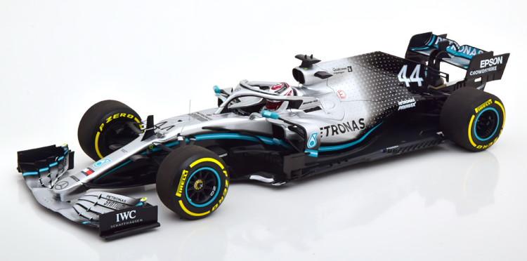 ミニチャンプス 1/18 メルセデス AMG F1 W10 EQ Power+ 2019 ワールドチャンピオン ハミルトン Minichamps Mercedes AMG W10 EQ Power+ World Champion 2019 Petronas Hamilton