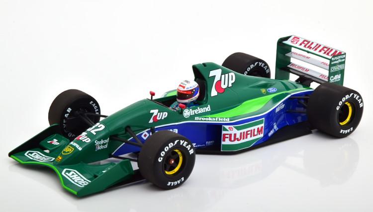 ミニチャンプス 1/18 ジョーダン フォード 191 イングランドランプリ F1 Minichamps 1:18 Jordan Ford 191 GP England 1991 Gachot Limited Edition 204 pcs.
