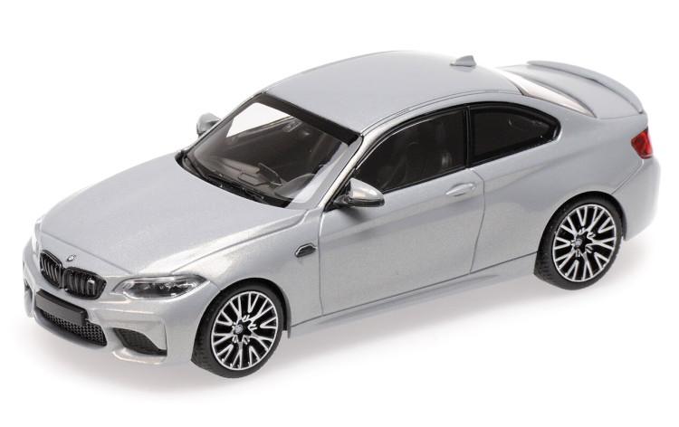 ミニチャンプス 1/43 BMW 2シリーズ M2 コンペティション クーペ 2019 シルバー MINICHAMPS 1:43 BMW 2-SERIES M2 COMPETITION COUPE 2019 SILVER