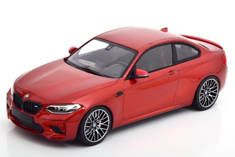 ミニチャンプス 1/18 BMW M2 コンペティション 2019 メタリックオレンジ 504台限定 Minichamps 1:18 BMW M2 Competition 2019 orange-metallic Limited Edition 504 pcs