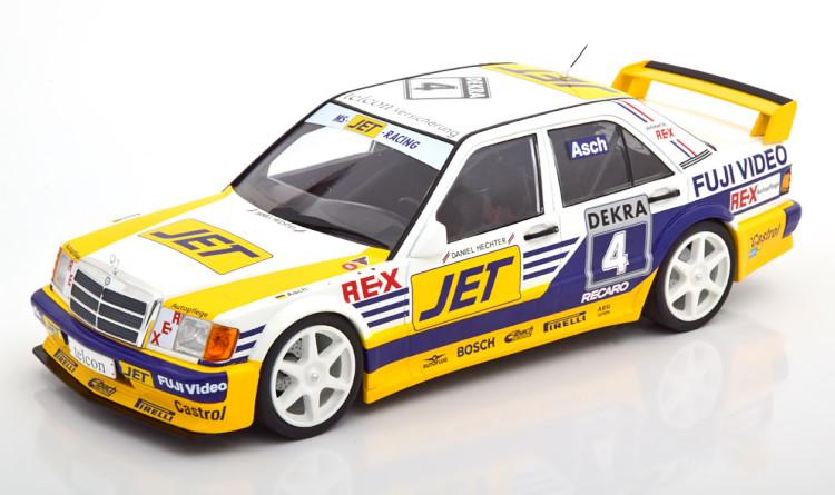 ミニチャンプス 1/18 メルセデス 190E 2.5-16 EVO 1 #4 DTM 1989 Asch イエロー/ホワイト/ブルー 300台限定 Minichamps 1:18 Mercedes 190 E 2.5-16 Evo 1 No 4 DTM 1989 Asch yellow white blue Limited Edition 300 pcs