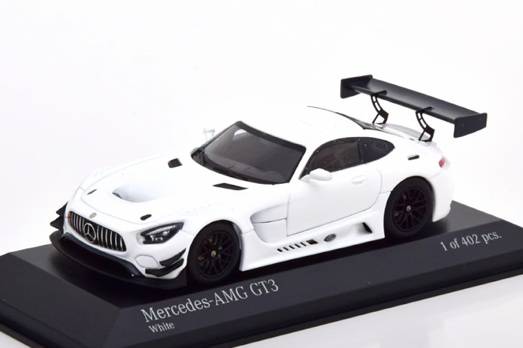 上質で快適 ミニチャンプス Edition Body 1/43 メルセデス AMG GT3 プレーンボディ 402 2017 ホワイト 402台限定Minichamps 1:43 Mercedes AMG GT3 Plain Body 2017 white Limited Edition 402 pcs, 新発田市:55eaf310 --- independentescortsdelhi.in