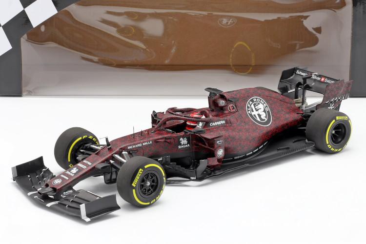 ミニチャンプス 1/18 アルファロメオ レーシング C38 フィオラーノ シェイクダウン F1 2019 Minichamps 1:18 Kimi Räikkönen Alfa Romeo Racing C38 Fiorano Shakedown F1 2019
