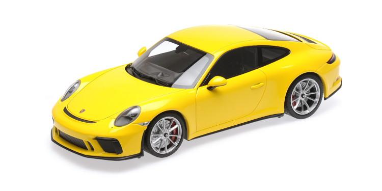 ミニチャンプス 1/18 ポルシェ 911 991 GT3 ツーリング クーペ 2018 イエロー Minichamps 1:18 Porsche 911 991 GT3 TOURING COUPE 2018 YELLOW