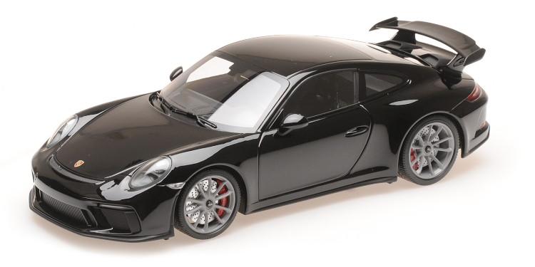 ミニチャンプス 1/18 ポルシェ 911 991-2 GT3 クーペ 2017 ブラック Minichamps 1:18 Porsche 911 991-2 GT3 COUPE 2017 BLACK