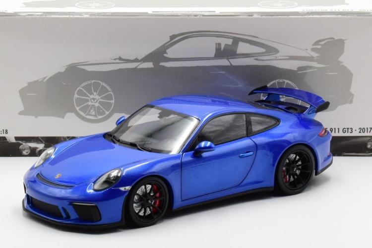 ミニチャンプス 1/18 ポルシェ 911 991-2 GT3 クーペ 2017 メタリックブルー Minichamps 1:18 Porsche 911 991-2 GT3 COUPE 2017 BLUE MET