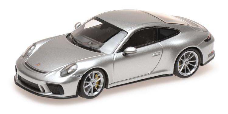 ミニチャンプス 1/43 ポルシェ 911 991-2 GT3 クーペ ツーリング 2018 シルバー Minichamps 1:43 Porsche 911 991-2 GT3 COUPE TOURING 2018 SILVER