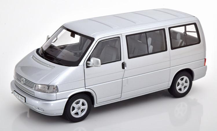 シュコー 1/18 フォルクスワーゲン T4b カラベル シルバー 1000台限定 Schuco 1:18 VW T4b Caravelle silver Limited Edition 1000 pcs