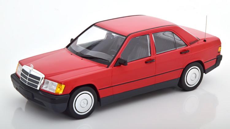 レッド 190E Limited W201 Mercedes 1982 1:18 Minichamps メルセデス・ベンツ 702 pcs Edition 190E ミニチャンプス 1982 red 1/18 W201 702台限定