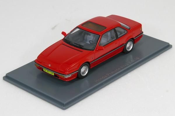 AITHJAPAN Modelcar Brochure SHOP: Neo 1/43 Honda Prelude 4