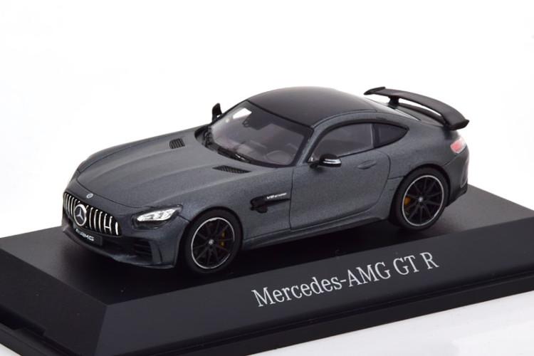 マットグレーメタリック ノレブ AMG Mercedes-Benz メルセデス・ベンツ NOREV 1/43 GT-R 2018