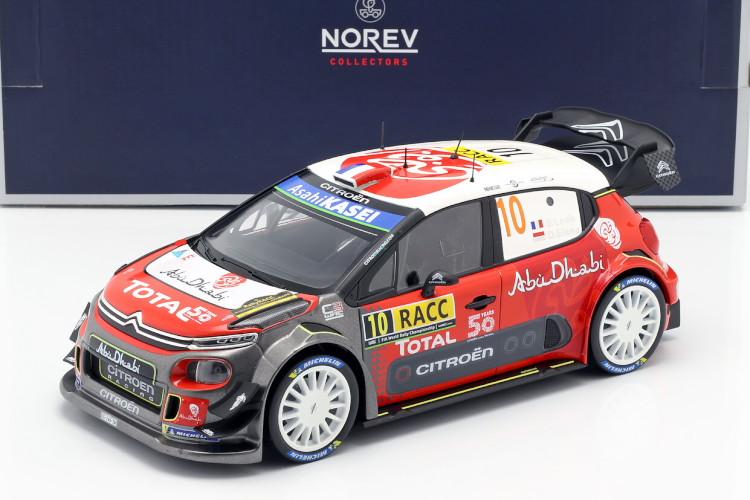 ノレブ 1/18 シトロエン C3 WRC 2018 #10 カタルーニャ ラリー 優勝 2018 Citroen C3 WRC Winner Rally Catalunya 2018 Sebastien Loeb, Daniel Elena