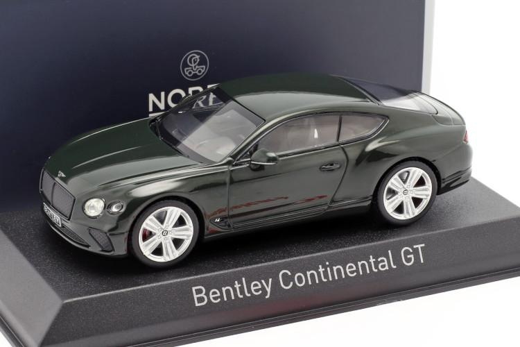 ノレブ 1/43 ベントレー コンチネンタル GT 2018 レーシンググリーン NOREV Bentley Continental GT year 2018 racing green
