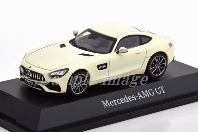 ノレブ 1/43 メルセデス・ベンツ AMG GT フェイスリフト 2019 ホワイト メルセデス特別版 Norev 1:43 Mercedes AMG GT Facelift 2019 white special edition of Mercedes