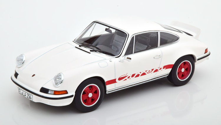 RS 911 2.7 Norev ホワイト/レッド RS ノレブ ポルシェ 1973 911 1/18 red 2.7 1973 Carrera white ツーリング カレラ Touring 1:18 Porsche