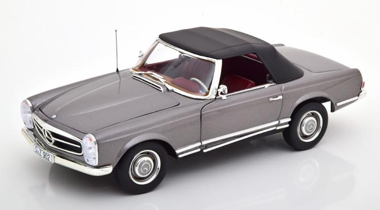 ノレブ 送料無料カード決済可能 1 18 メルセデス ベンツ 230 特別セール品 SL W113 Mercedes 1963 Norev 1:18 Grey メタリックグレー Metallic