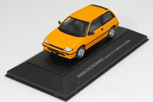 [Secondhand] SAPI 1 / 43 Honda wonder Civic Si Orange 300 vehicles limited