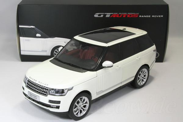 GT Autos 1/18 ランドローバー レンジローバー ホワイト