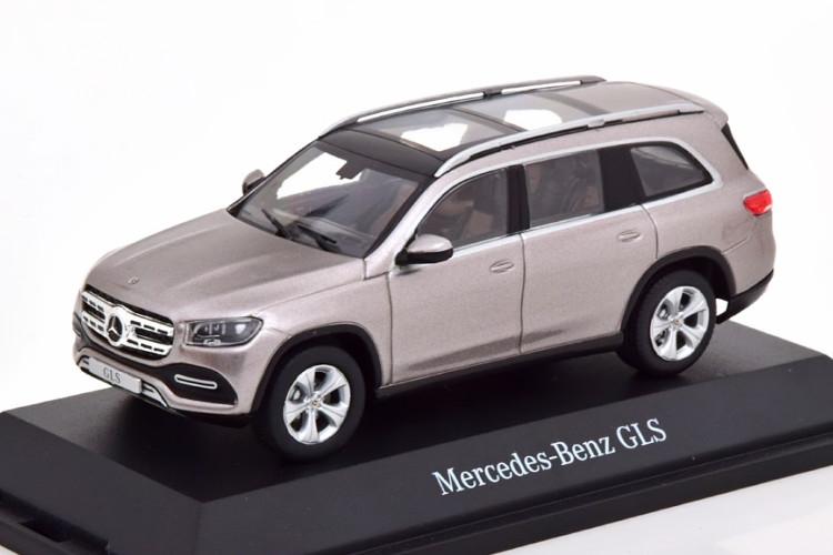 Z-Models 1/43 メルセデス GLSクラス 2019 ライトグレーメタリック メルセデス特別限定版 Mercedes GLS lightgrey-metallic special edition of Mercedes