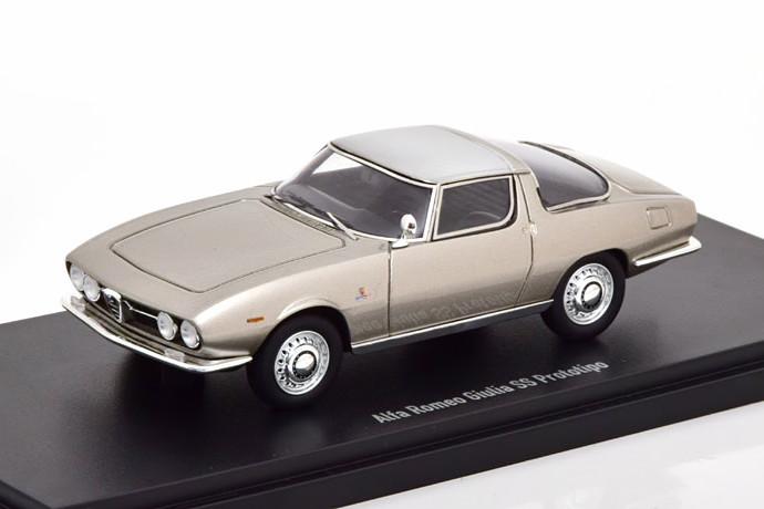 オートカルト 1/43 アルファロメオ ジュリア SS プロトタイプ 1965 シルバー 333台限定 Alfa Romeo Giulia Prototipo silver Limited Edition 333 pcs