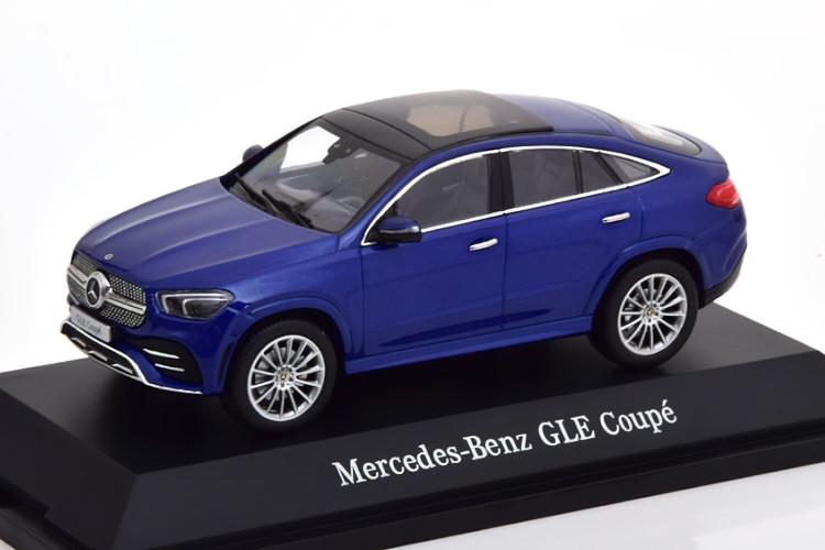 iScale 1/43 メルセデスベンツ GLEクラス クーペ C167 2019 ブルーメタリック Mercedes GLE-Klasse C167 Coupe 2019 blaumetallic