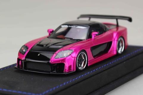 ピーコ 1/43 ヴェイルサイド フォーチュン7 フラッシュピンク/ブラック PEAKO 1:43 eilside Fortune 7 Flash Pink/Black