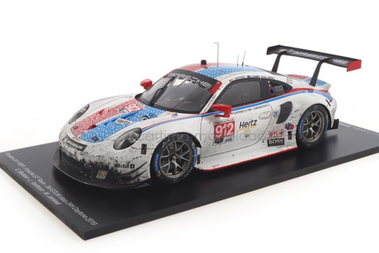 car.tima特注☆ 1/18 ポルシェ 911 RSR デイトナ24時間耐久レース 2019 ホワイト 10台限定 car.tima 1:18 Porsche 911 RSR 24h Daytona 2019 Bamber/Jaminet/Vanthoor white Limited Edition 10 pcs