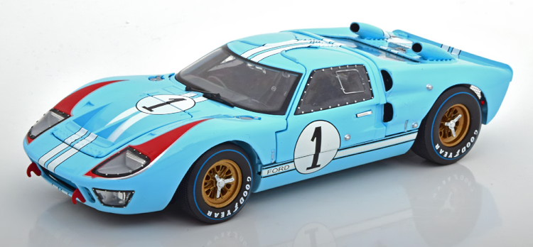 Shelby Collectibles 1/18 フォード GT40 MK 2 1番 優勝 ル・マン24時間耐久レース 1966 映画フォードvsフェラーリ Shelby Collectibles 1:18 Ford GT40 MK II No 1 The Real Winner 24h Le Mans 1966 Miles/Hulme from the movie Le Mans 66