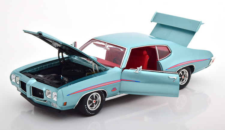 ACME 1/18 ポンティアック GTO ジャッジ ハードトップ 1970 メタリックブルー ACME 1:18 pontiac GTO judge hardtop 1970 blue metallic