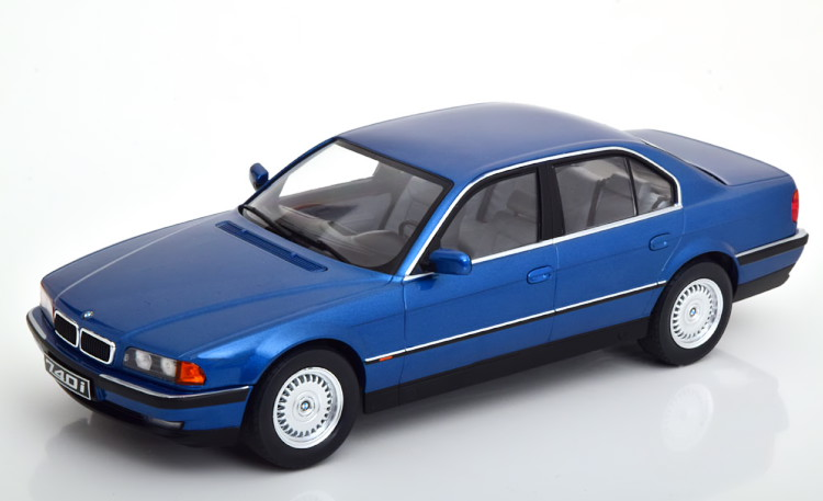 KK-SCALE 1/18 BMW 740i E38 1シリーズ 1994 ブルーメタリック 1000台限定 KK-Scale 1:18 BMW 740i E38 1 Series 1994 blue-metallic Limited Edition 1000 pcs