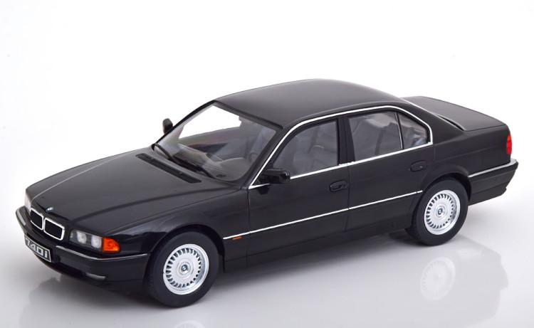 KK-SCALE 1/18 BMW 740i E38 1シリーズ 1994 ブラックメタリック 1000台限定 KK-Scale 1:18 BMW 740i E38 1 Series 1994 black-metallic Limited Edition 1000 pcs