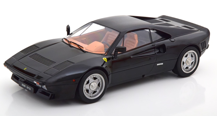 KK-SCALE 1/18 フェラーリ 288 GTO 1984 ブラック 500台限定 KK-Scale 1:18 Ferrari 288 GTO 1984 black Limited Edition 500 pcs