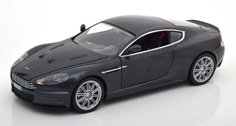 Ertl/Auto World 1/18 アストンマーティン DBS 007慰めの報酬 ジェームズボンド メタリックグレー Ertl/Auto World 1:18 Aston Martin DBS Quantum of Solace greymetallic James Bond