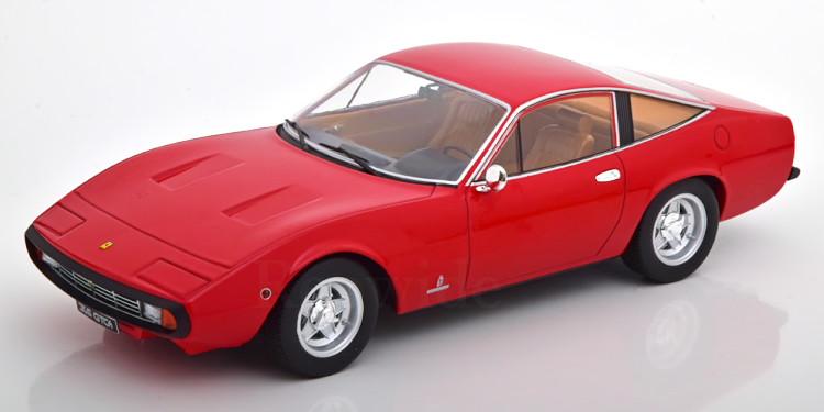 KK-SCALE 1 18 フェラーリ 365 GTC4 1971 レッド 750台限定 Ferrari KK-Scale red pcs Limited Edition 1:18 ついに入荷 750 新着セール