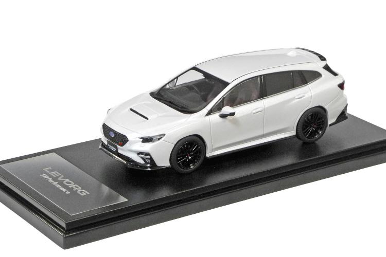 スバル特注 訳あり品送料無料 1 43 スバル メーカー在庫限り品 レヴォーグ STI 2020 Sport パール LEVORG SUBARU クリスタルホワイト