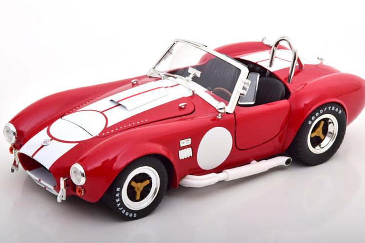 Shelby Collectibles 1 発売モデル 40%OFFの激安セール 18 シェルビー コブラ 427 S レッド Cobra C red 1965 white 1:18 ホワイトShelbyCollectibles