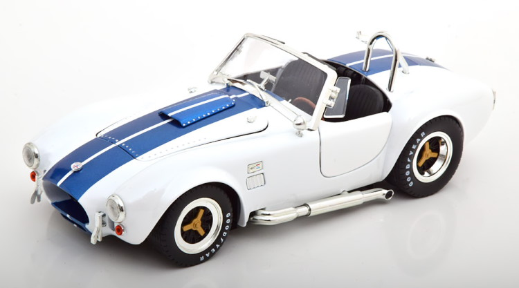 Shelby Collectibles 1 18 シェルビー コブラ 427 S Cobra C 全品送料無料 blue 賜物 ブルーShelbyCollectibles ホワイト 1:18 1965 white